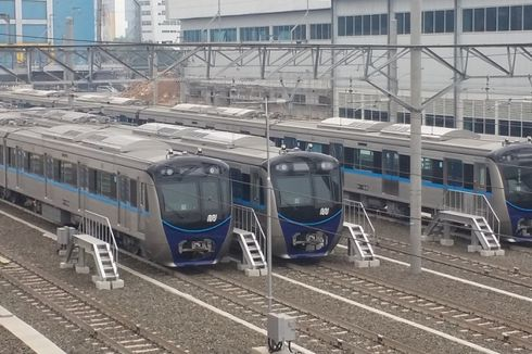 Pemprov DKI Ubah Rute MRT Fase 2 Jadi Bundaran HI-Kota