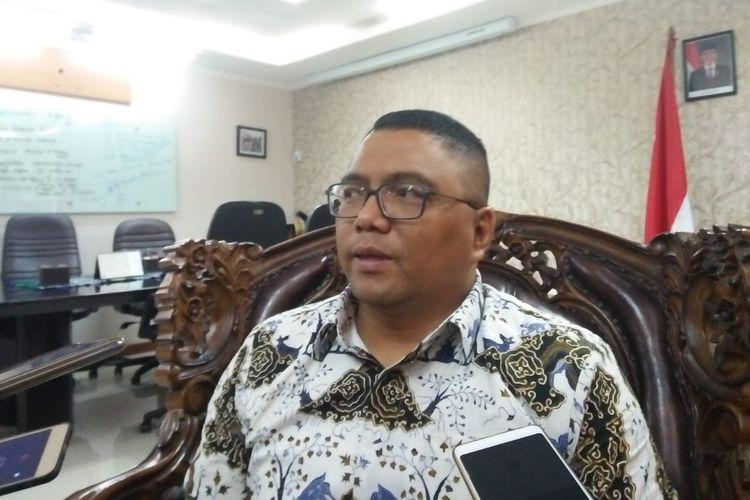 Fritz Edward Siregar di Bawaslu, Jakarta, Selasa (28/5/2019)