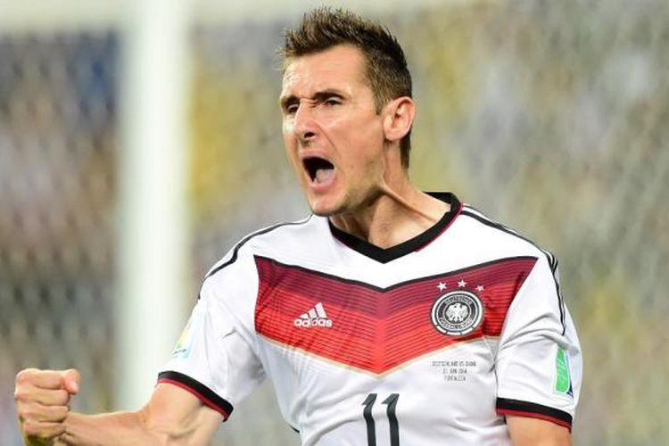 Striker Jerman, Miroslav Klose.