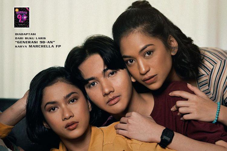 Poster film Generasi 90an: Melankolia