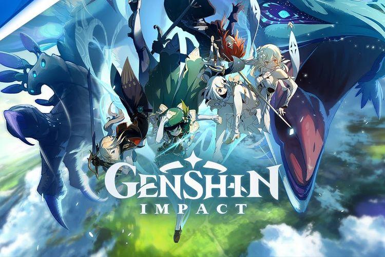 Ilustrasi game Genshin Impact