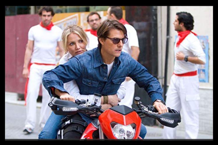Tom Cruise dan Cameron Diaz dalam film Knight and Day (2010)