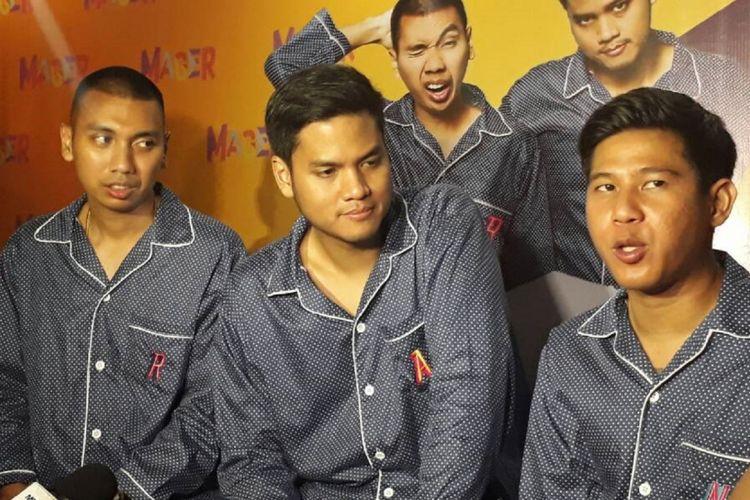 Grup musik RAN yang terdiri dari Rayi, Asta, dan Nino meluncurkan album kelima mereka bertajuk self-titled dalam bentuk fisik di Artotel Thamrin, Jakarta Pusat, Rabu (7/6/2017).