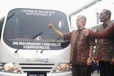 Siswa SMK Bikin Mobil Tenaga Surya dengan Onderdil
