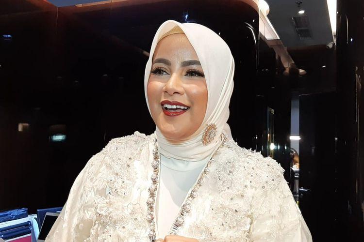 Olla Ramlan saat ditemui dalam acara Anniversary 14 th Passion Jewelry di Plaza Indonesia, Thamrin Jakarta Pusat, Senin (2/12/2019).