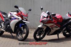Adu Tampang Honda CBR150R vs Yamaha R15