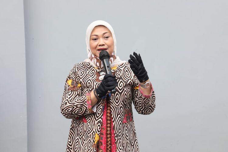 Menteri Ketenagakerjaan Ida Fauziyah, di Jakarta, Selasa (4/8/2020).