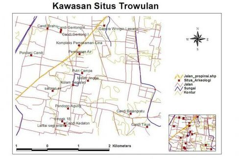 Tiga Desa di Trowulan Disulap Jadi Permukiman ala Majapahit