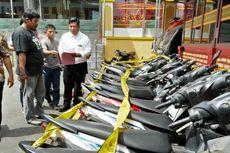 Bobol Toko Motor Bekas, Pedagang Sayur Ditangkap