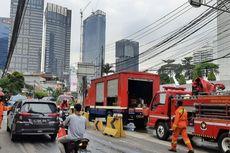 Kebakaran di Apartemen Tamansari Sudirman Telah Dipadamkan