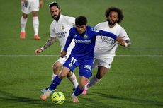 Getafe Vs Real Madrid Imbang, Los Blancos Gagal Tempel Atletico Madrid