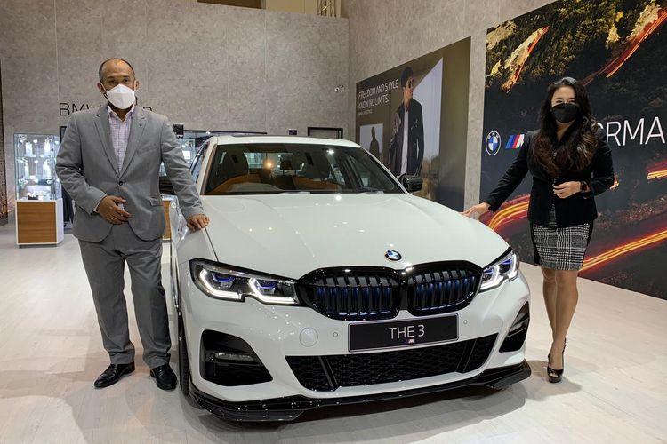 BMW Indonesia luncurkan layanan virtual di ajang IIMS 2021.