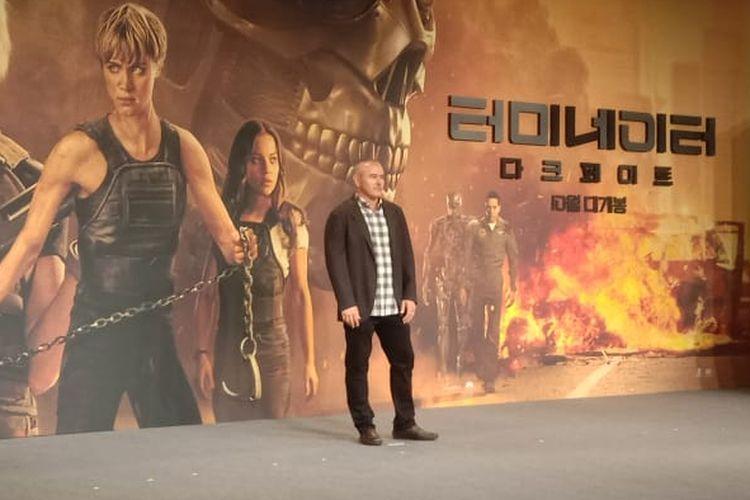 Tim Miller saat menghadiri press junket Terminator: Dark Fate di Four Seasons Hotel, Seoul, Korea Selatan, Senin (21/10/2019).
