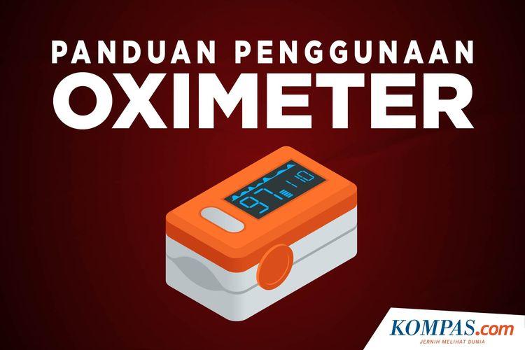 Infografik Panduan Penggunaan Oximeter