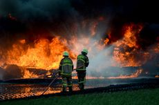 Pipa Pertamina Terbakar di Cimahi, Ini Rekayasa Lalu Lintas Menuju Tol Cileunyi