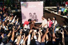 Ridwan Kamil dan Pemeran Dilan 1991 Resmikan Groundbreaking Dilan Corner