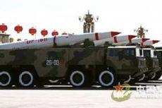 China Arahkan Rudal Balistik Jarak Menengah ke Taiwan