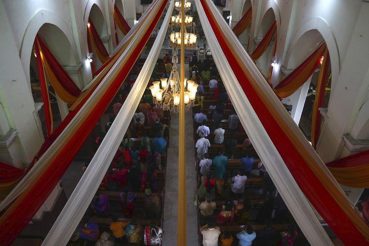 Pertemuan Katedral St. Joseph di Hyderabad, India akan digelar pada Jumat (25/12/2020) pada Misa Natal.