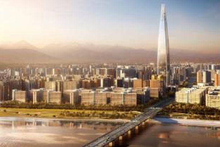 Di tingkat atas menara, sebuah hotel mewah akan menempati lantai 80-109, sedangkan lantai sisanya diperuntukkan untuk kepentingan umum yang menampilkan sebuah dek dan atap kafe.
