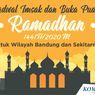 Jadwal Imsak dan Buka Puasa di Bandung Hari Ini, 23 Mei 2020
