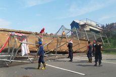 Polisi Akan Panggil Perusahaan Pemilik Truk yang Tabrak JPO di Tol Bintaro-Serpong