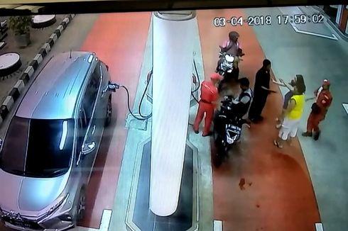 Wanita yang Tampar Petugas SPBU Dilaporkan ke Polisi