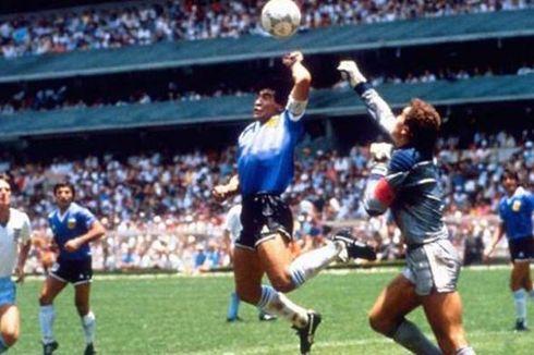 Mau Dapat Kaus yang Dipakai Maradona Saat Cetak Gol