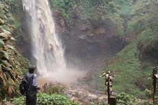 Air Terjun Cipendok Keruh, Kunjungan Wisatawan Menurun