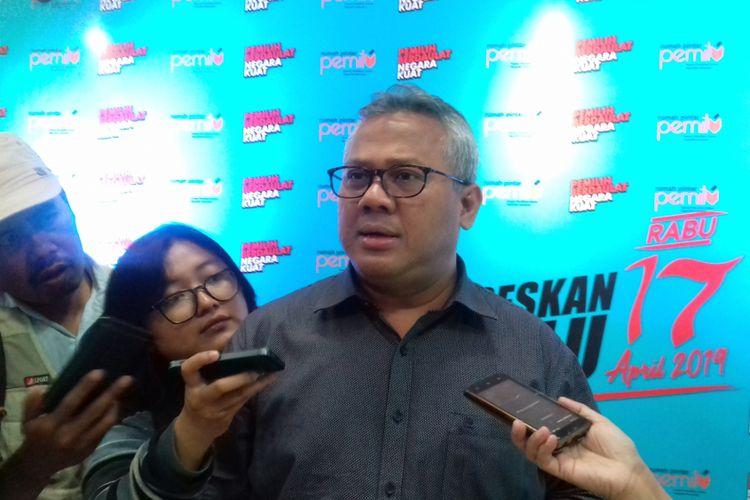 Ketua KPU RI Arief Budiman dalam acara KPU Goes to Campus di Universitas Muhammadiyah Malang (UMM), Senin (15/10/2018).