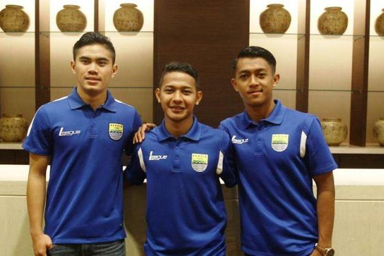 Tiga pemain muda Persib Bandung yakni Jujun Saepulloh, Gian Zola, dan  Febri Haryadi berkesempatan menimba ilmu di Inter Milan selama bulan. Rencananya, mereka akan bertolak ke Italia pada akhir Februari 2016.