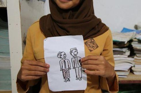 Heboh Pernikahan Dua Bocah di Tapin, Keduanya Kembali ke Sekolah (3)