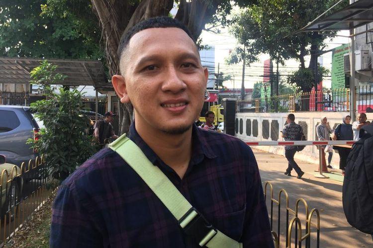 Bagus Permadi ditemui di Pengadilan Negeri Jakarta Selatan, Ampera, Jakarta Selatan, Rabu (2/10/2019).