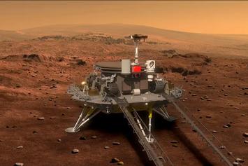China Berhasil Daratkan Wahana Antariksa Pertama di Planet Mars