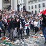 Fans Inggris Terobos Keamanan Stadion Wembley Saat Final Euro 2020