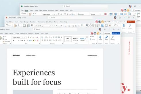 Microsoft Office Punya Tampilan Baru di Windows 11, Begini Penampakannya