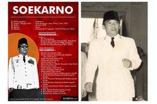 INFOGRAFIK Serial Presiden: Soekarno