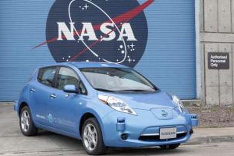 Nissan dan NASA bekerja sama mengembangkan teknologi otonomos.