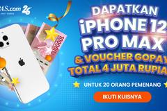 iPhone 12 Pro Max dan Voucher Gopay Bisa Jadi Milik Kamu