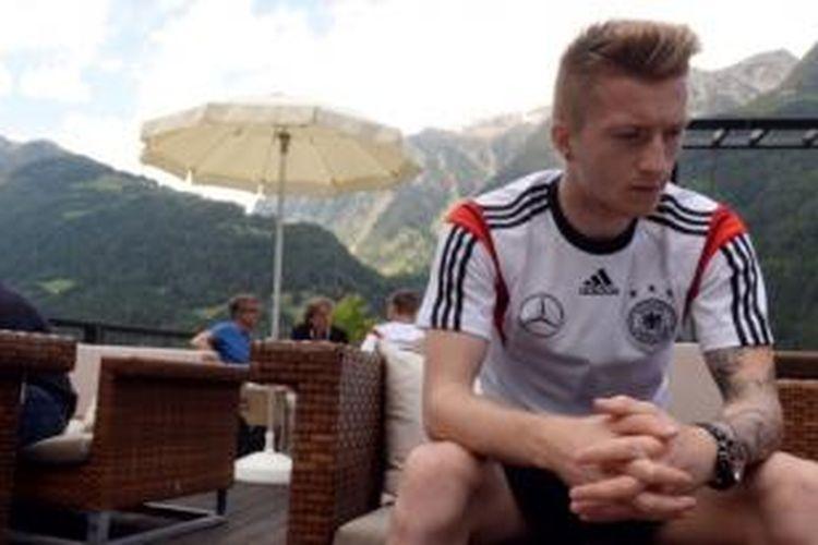 Gelandang tim nasional Jerman, Marco Reus.
