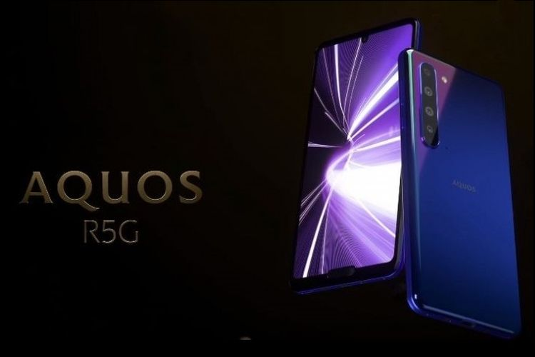 Sharp Aquos R5G.