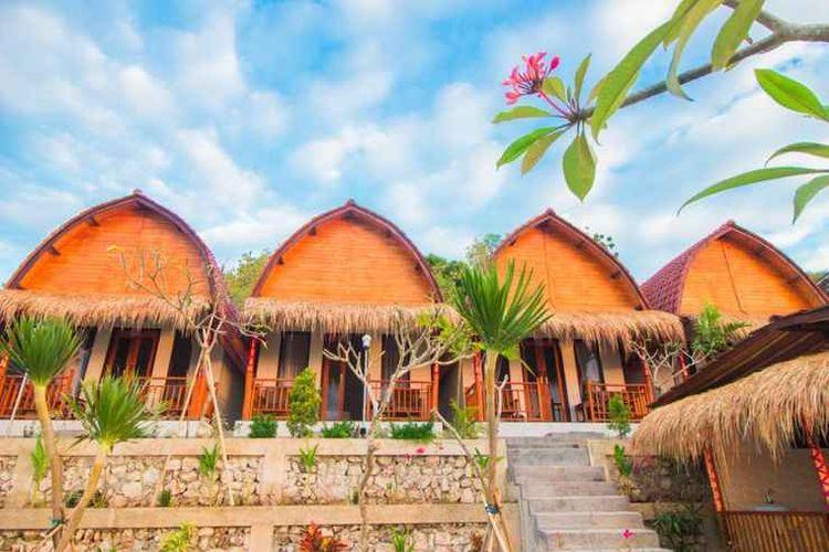 Penginapan Dayuh House di Nusa Penida, Bali.