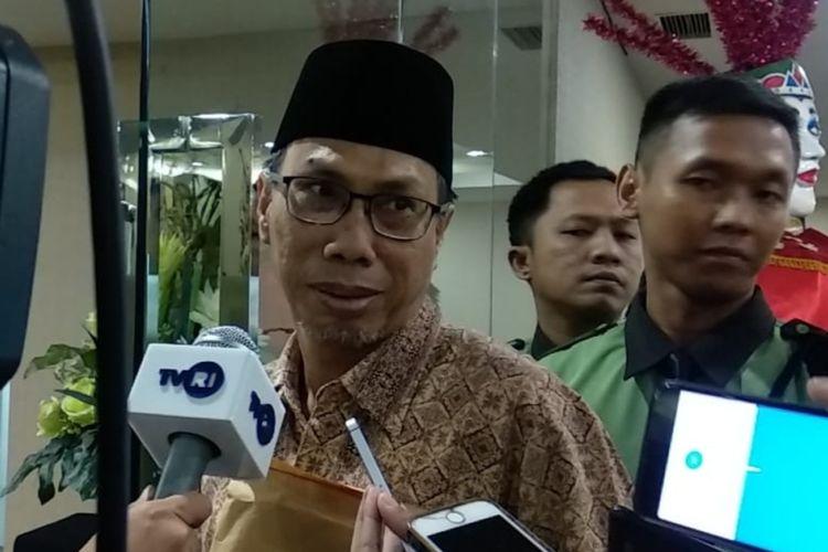 Ketua Fraksi PKS DPRD DKI Mohammad Arifin di lantai 10, Gedung DPRD DKI, Selasa (18/2/2020)