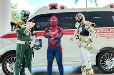 3 Wakil Direktur RSUD Ini Berubah Jadi Power Rangers dan Spider-Man