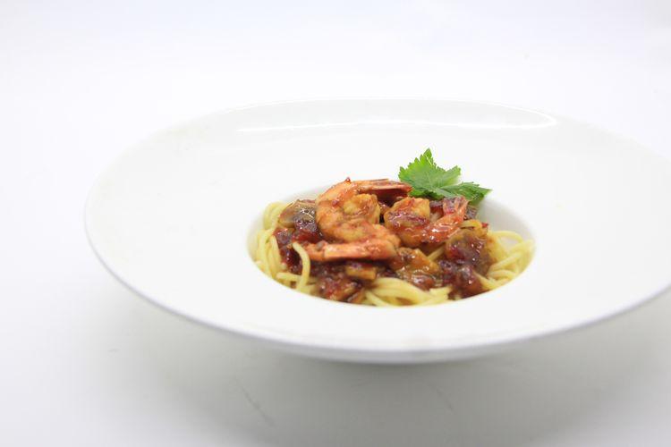 Shrimp pasta with thai sauce ala Hotel Salak Heritage Bogor