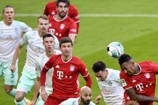 Hasil Bayern Muenchen Vs Werder Bremen, Die Roten Tertahan di Kandang
