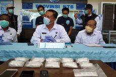 Selundupkan Sabu Senilai Rp 1,8 Miliar Dalam Koper, 2 Orang Ditangkap di Bandara Lombok