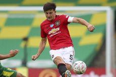 Norwich Vs Man United, Rasa Kecewa Maguire di Balik Kemenangan Setan Merah