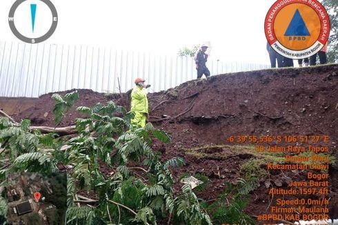 Tanah Longsor Landa Puncak Bogor, Satu Unit Rumah Rusak