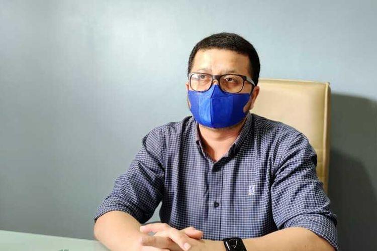Jubir Satgas Penanganan Covid-19 Riau, dr Indra Yovi saat diwawancarai Kompas.com terkait seorang dokter di Kabupaten Siak meninggal dunia diduga akibat terpapar Covid-19, Sabtu (10/7/2021).