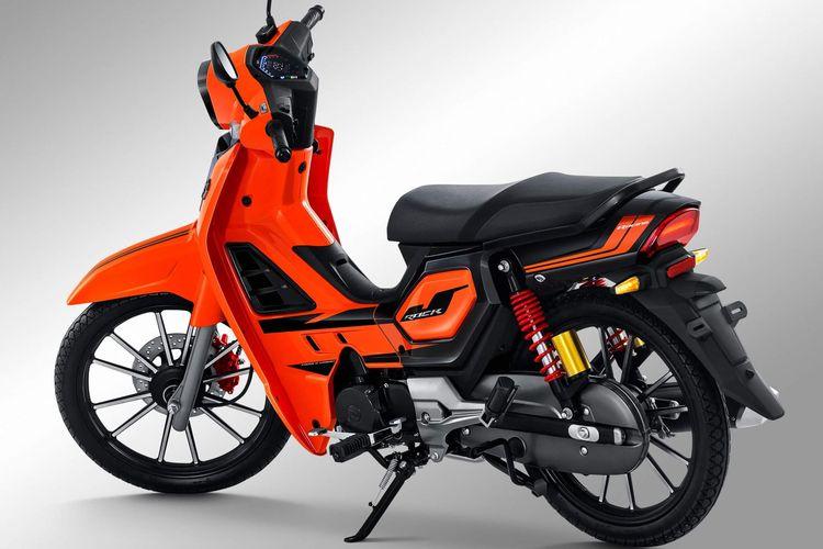 GPX Rock, motor bebek pabrikan China yang mirip Honda Kirana